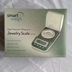 SmartWeigh High Precision Milligram Jewelry Scale